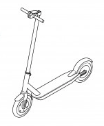 E-Scooter Illustration