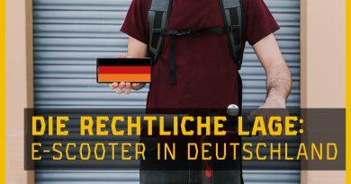 E-Scooter Gesetz Deutschland