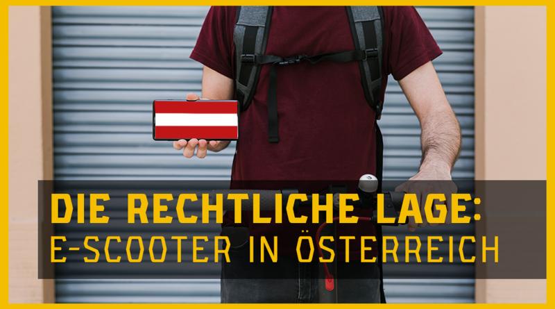 E-Scooter Gesetz Österreich