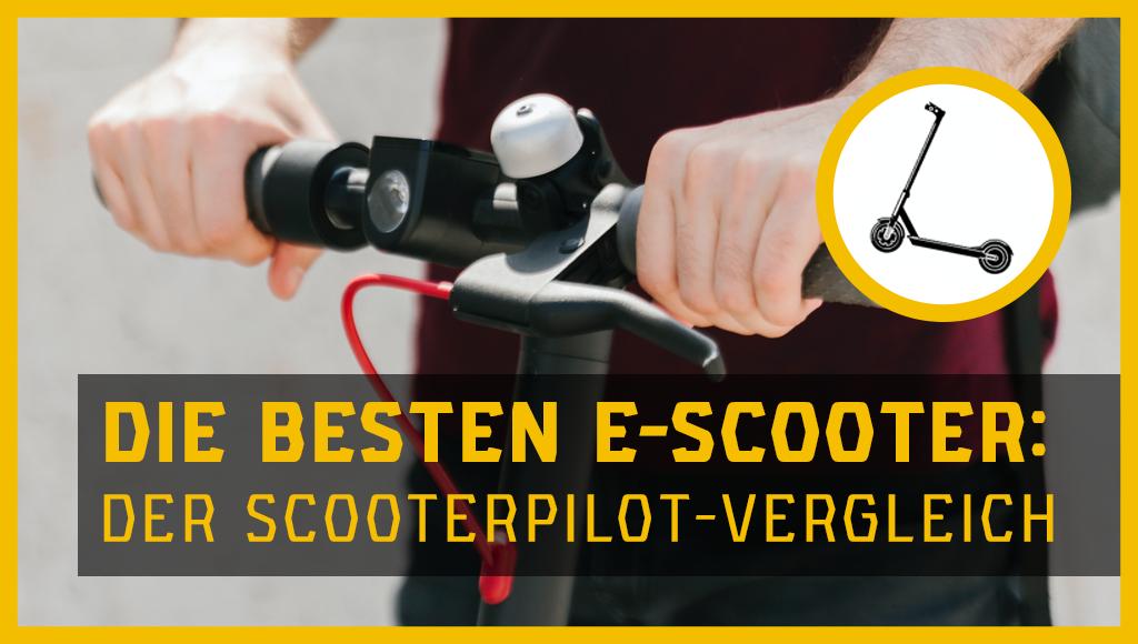 E-Scooter Vergleich