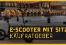 E-Scooter mit Sitz