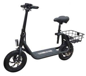 E-Scooter mit Sitz Test