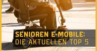 Die besten Elektromobile für Senioren